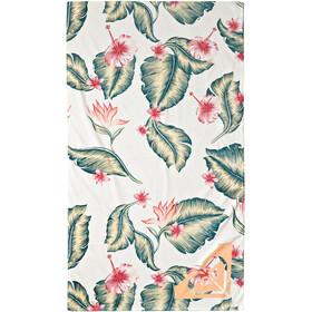 Roxy Hazy Towel bright white tropical love swim